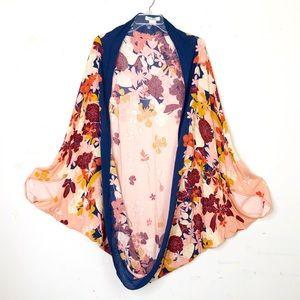 Francesca's floral duster kimono